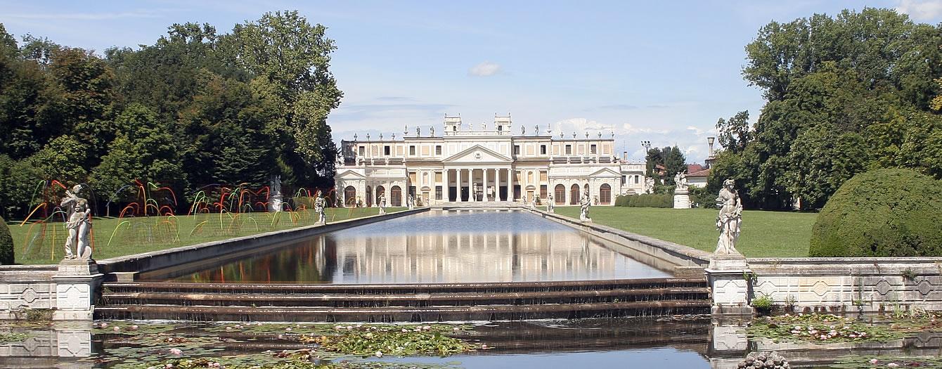 Tussen de Venetiaanse villa's