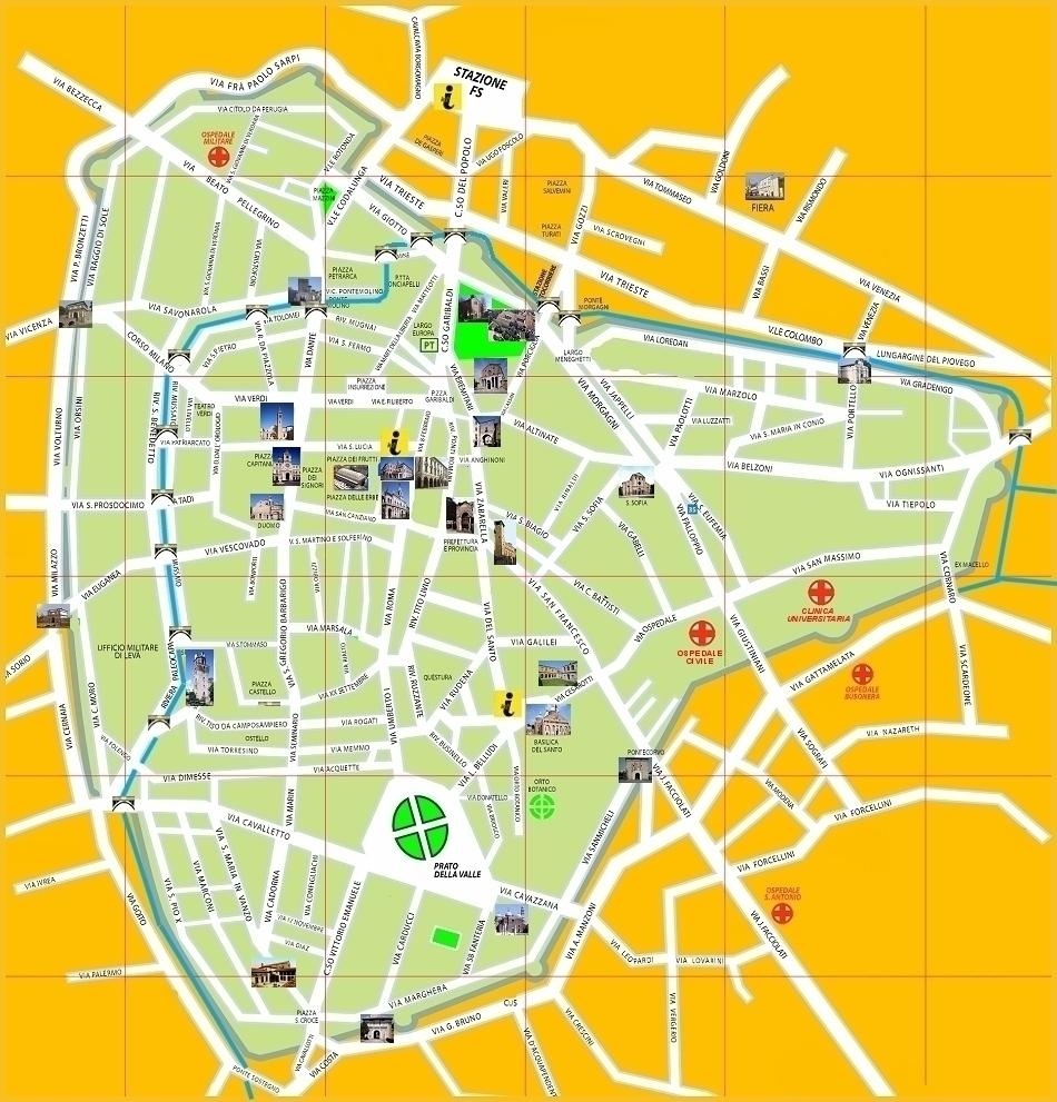 Mappa di Padova