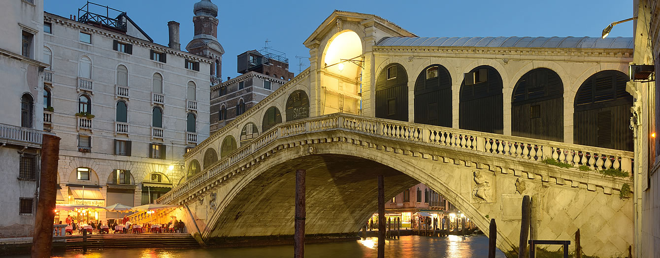 A stone's throw from Venice